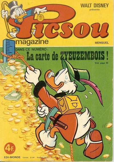 Couverture de Picsou Magazine -56- Picsou Magazine N°56