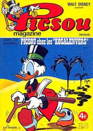 Couverture de Picsou Magazine -57- Picsou Magazine N°57