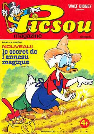 Couverture de Picsou Magazine -58- Picsou Magazine N°58
