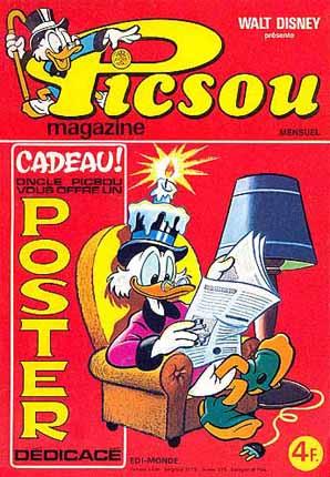 Couverture de Picsou Magazine -60- Picsou Magazine N°60