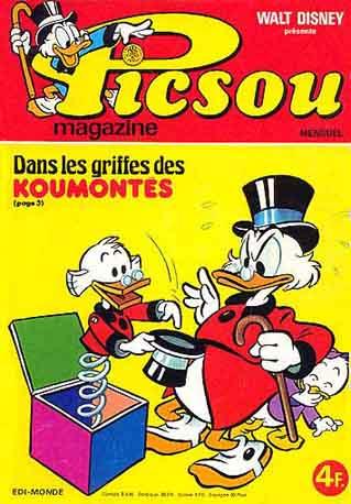 Couverture de Picsou Magazine -61- Picsou Magazine N°61