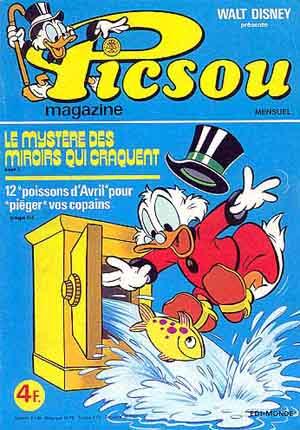 Couverture de Picsou Magazine -62- Picsou Magazine N°62