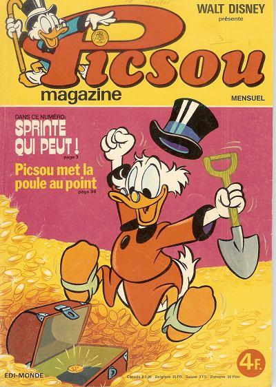 Couverture de Picsou Magazine -63- Picsou Magazine N°63