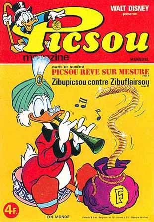 Couverture de Picsou Magazine -64- Picsou Magazine N°64