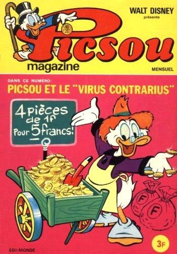 Couverture de Picsou Magazine -6- Picsou Magazine N°6