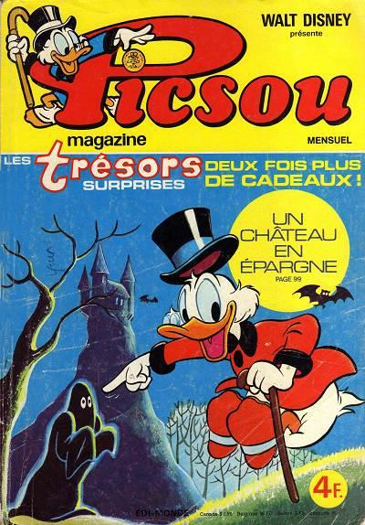 Couverture de Picsou Magazine -71- Picsou Magazine N°71