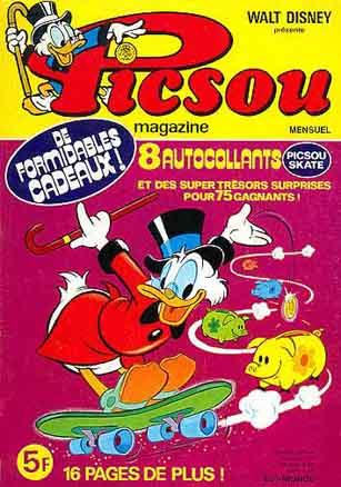 Couverture de Picsou Magazine -78- Picsou Magazine N°78