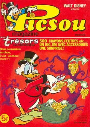 Couverture de Picsou Magazine -80- Picsou Magazine N°80