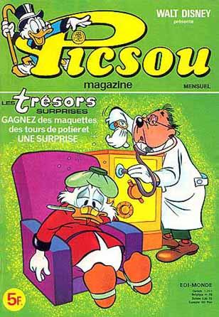 Couverture de Picsou Magazine -86- Picsou Magazine N°86
