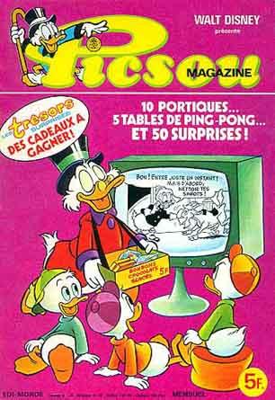 Couverture de Picsou Magazine -88- Picsou Magazine N°88