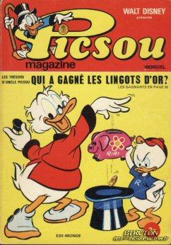 Couverture de Picsou Magazine -8- Picsou Magazine N°8