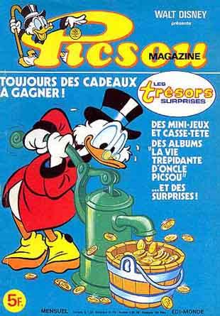 Couverture de Picsou Magazine -91- Picsou Magazine N°91