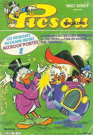 Couverture de Picsou Magazine -98- Picsou Magazine N°98