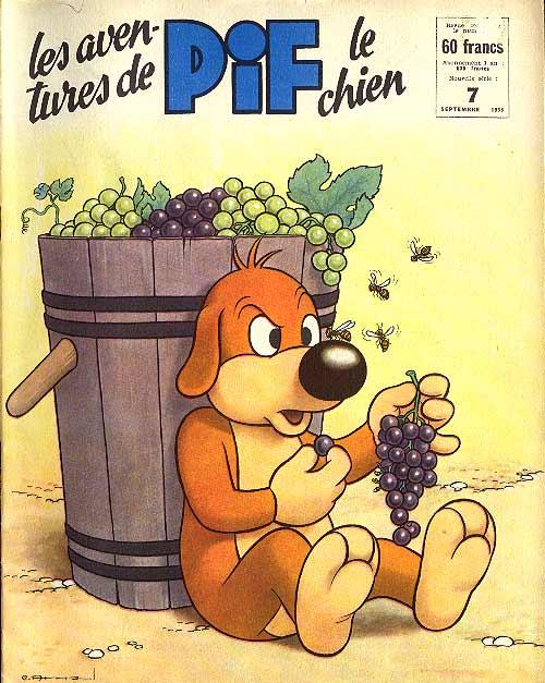 Couverture de Pif le chien (3e série - Vaillant) -7- 3e série T.7