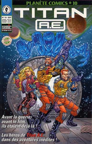 Couverture de Planète Comics (2e série) -10- Titan A.E.