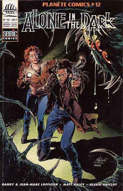 Couverture de Planète Comics (2e série) -12- Alone in the dark