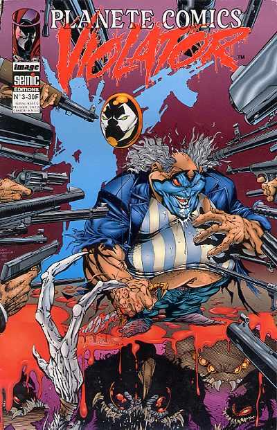 Couverture de Planète Comics (2e série) -3- Violator