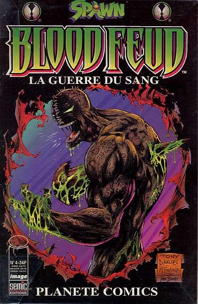 Couverture de Planète Comics (2e série) -4- Spawn : Bloodfeud - La guerre du sang