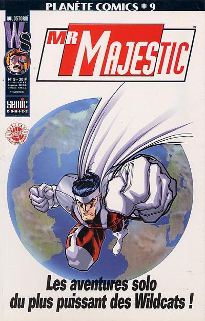 Couverture de Planète Comics (2e série) -9- Mr Majestic