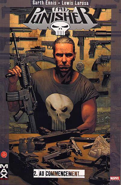 Couverture de Punisher (MAX Comics) -2- Au commencement...