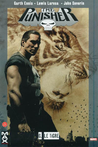 Couverture de Punisher (MAX Comics) -6- Le Tigre