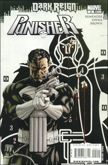 Couverture de Punisher Vol.08 (Marvel comics - 2009) (The) -2- Living in Darkness, part 2