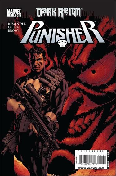 Couverture de Punisher Vol.08 (Marvel comics - 2009) (The) -3- Living in Darkness, part 3