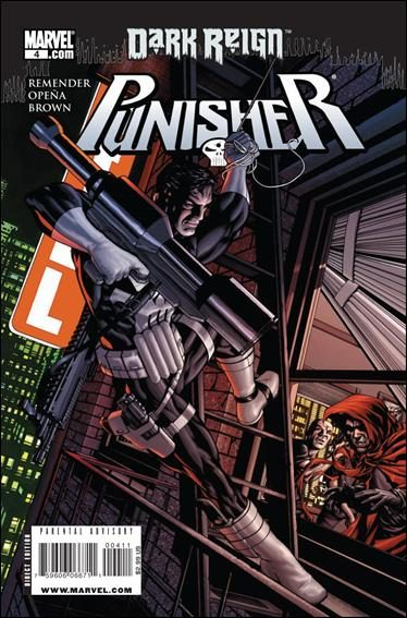 Couverture de Punisher Vol.08 (Marvel comics - 2009) (The) -4- Living in Darkness, part 4