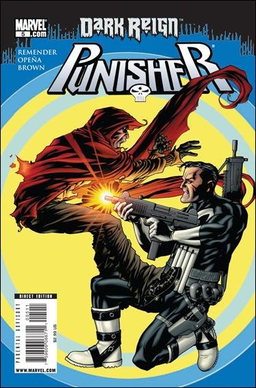 Couverture de Punisher Vol.08 (Marvel comics - 2009) (The) -5- Living in Darkness, part 5