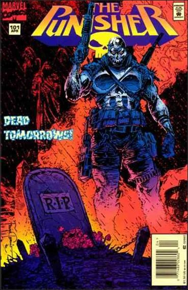 Couverture de Punisher (1987) (The) -101- Dead tomorrows