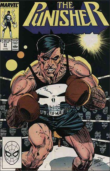 Couverture de Punisher (1987) (The) -21- The boxer