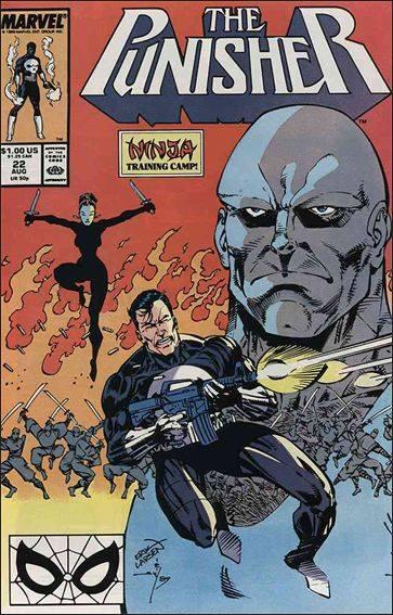 Couverture de Punisher Vol.02 (Marvel comics - 1987) (The) -22- Ninja trainning camp
