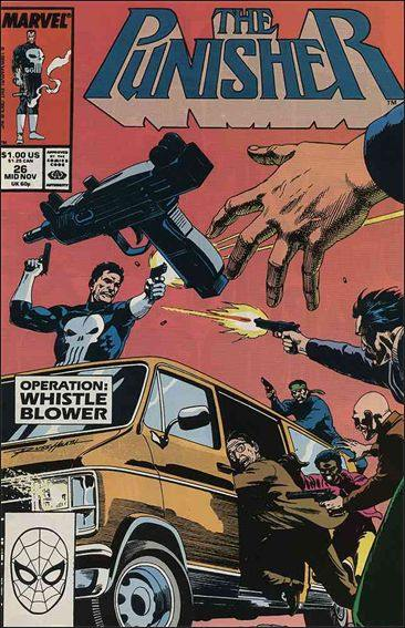 Couverture de Punisher (1987) (The) -26- The whistle blower