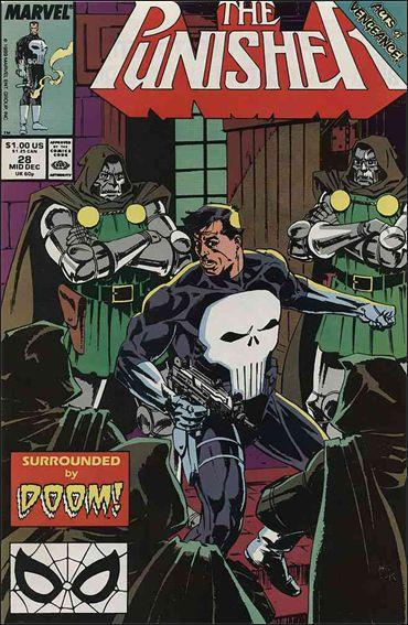 Couverture de Punisher (1987) (The) -28- Change partners and dance