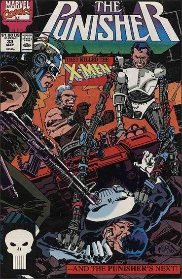 Couverture de Punisher (1987) (The) -33- Reaver fever