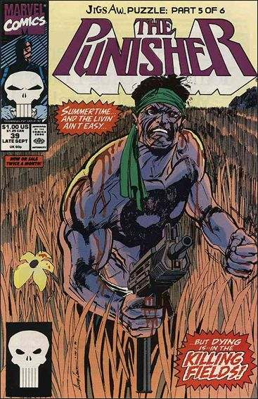 Couverture de Punisher (1987) (The) -39- Jigsaw puzzle part 5 : a man of wealth and taste