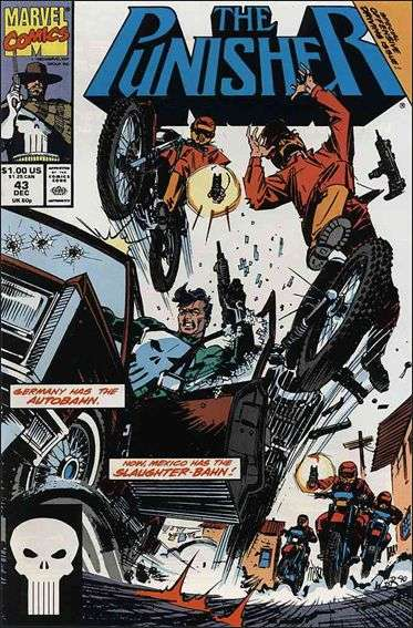 Couverture de Punisher (1987) (The) -43- Border run