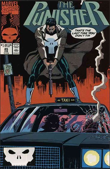 Couverture de Punisher (1987) (The) -45- One way fare