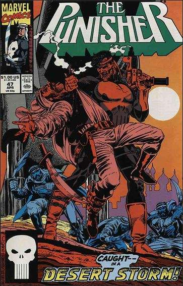 Couverture de Punisher (1987) (The) -47- The brattle gun part 1