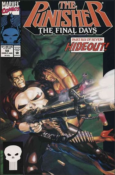 Couverture de Punisher (1987) (The) -58- Final days part 6 : the noose tightens
