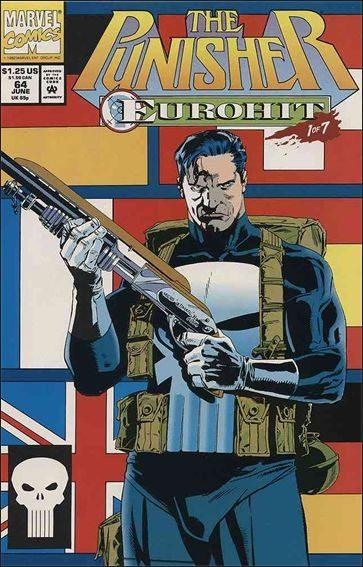 Couverture de Punisher (1987) (The) -64- Eurohit part 1 : arrivals