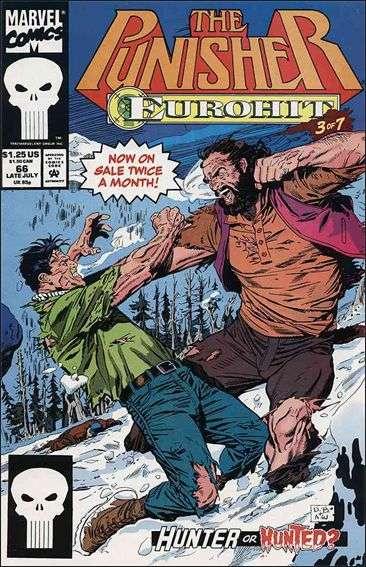 Couverture de Punisher (1987) (The) -66- Eurohit part 3 : black forest, black bear