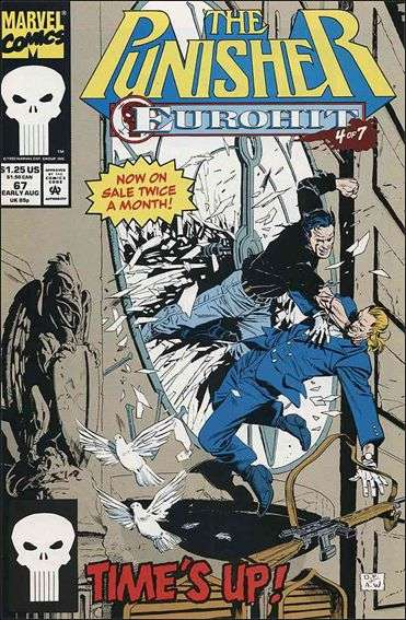 Couverture de Punisher (1987) (The) -67- Eurohit part 4 : swiss timing