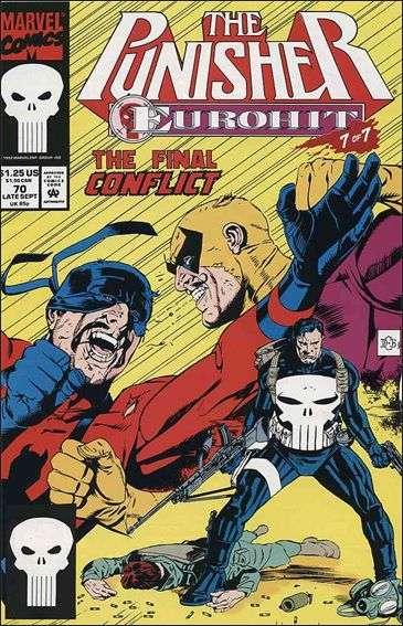 Couverture de Punisher (1987) (The) -70- Eurohit part 7 : tunnel vision