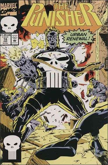Couverture de Punisher (1987) (The) -74- Police action part 2