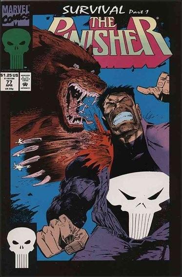 Couverture de Punisher Vol.02 (Marvel comics - 1987) (The) -77- Survival part 1
