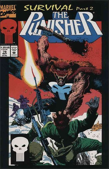 Couverture de Punisher (1987) (The) -78- Survival part 2