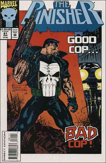 Couverture de Punisher Vol.02 (Marvel comics - 1987) (The) -81- Bodies of evidence