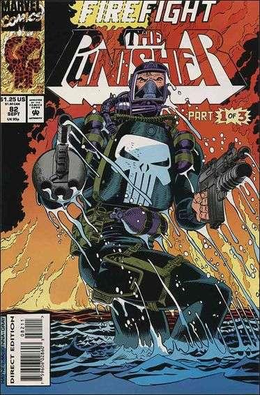 Couverture de Punisher (1987) (The) -82- Firefight part 1