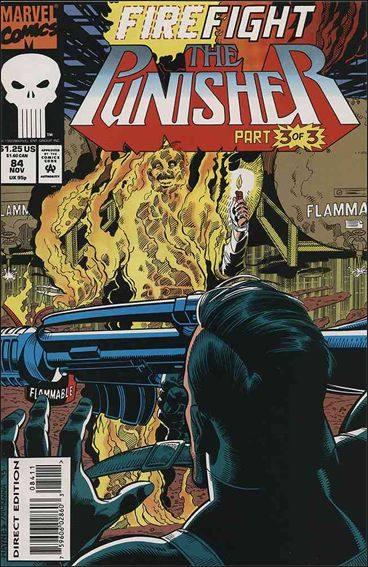 Couverture de Punisher Vol.02 (Marvel comics - 1987) (The) -84- Firefight part 3